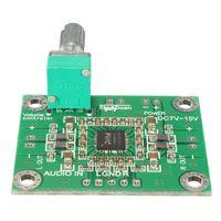модули звукового усилителя оптовых-3 ШТ. \ LOT10W X 2 DC 7-15 В PAM8610 Цифровой Аудио Стерео Усилитель Модуль Печатной Платы DC 12 В 4x3.3x1.4 см Электронный комплект Печатная плата