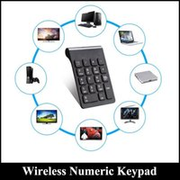 Wholesale laptop computing for sale - Wireless Numeric Keypad G USB Numeric Keypad Keys Wireless Keyboard Mini Pad Ultra Slim For Compute PC Laptop