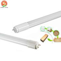 süper parlak ledli ışıklar t5 toptan satış-Toptan T5 LED tüp ışıkları G5 1200mm 4FT SMD2835 20 W 2400lm Süper parlak T5 led tüpler AC 85-265 V ücretsiz kargo