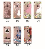 Wholesale Alice Iphone - For iphone 7 plus 6s plus TPU case fashion universal case Alice snow White Cell Phone Cases