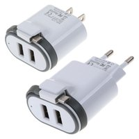 Wholesale Fast Attach - 2.1A Fast Rapid Micro USB Travel Wall Home Charger w  Attached Cable For Smart Phone dhl FREE