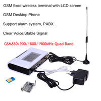 Wholesale gsm dialer wireless - GSM Dialer Fixed wireless Terminal Quad Band 850 1900,900 1800 Use in worldwide, Ready for USA , CANADA , SOUTH AMERICA