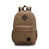 ackpacks per adolescenti HOT Canvas School Zaino per adolescenti Ragazzi Outdoor Sports Alpinismo Cycling Bags Laptop Zaino ...