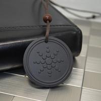 Wholesale Quantum Scalar Energy Necklace - Wholesale-2015 NEW Quantum Pendant Necklace Scalar Orgon Energy neg ions EMF Protection D0724