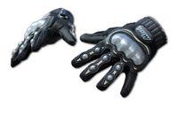 Wholesale Full Finger Armor - MS 108 Black Motorcycle Motocross Gloves Armor Short Racing Bike Riding FOX