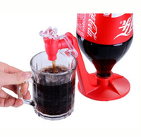 Wholesale Fountain Drink Machine Wholesale - Upside Down Cola Drinking Fountains Cola Beverage Switch Drinkers Saver Soda Dispenser Kitchen Bar Drink Machines Home Drink Tool SF18