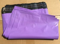 Wholesale Purple Poly Mailers - Purple Color Express Bag  Poly Mailer Mailing Envelope  Self Adhesive Seal Plastic pouch