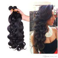 Wholesale Gem Weave - Brazilian Hair Body Wave 3pcs Bele Virgin Brazilian Body Wave Virgo GEM Vip Beauty Hair Company Brazillian Hair 4,6pcs lot