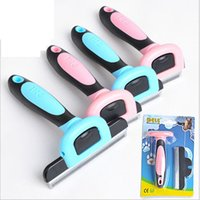 Wholesale Dele Pet Comb - DELE Dog Hair Trimmer Pet Comb Hair Remover Dog Cat Brush Grooming Tools Dog Supplies Pet Cat Trimmer