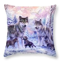 Wholesale Wholesale Love Seats - Cushion(No Filler) Mom's Love Polyester Family affection Sofa Car Seat happy family Home Decorative Throw Pillow Case Sofa Home Decor