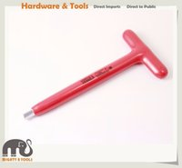 Wholesale Hex Handle - X-Steel Insulated Electrician VDE 175mmL T-Handle Hex Key Wrench 6, 8mm or 2pc