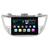 "Wholesale Hyundai Navi - 10.2"" Android 6.0.1 System Car DVD Player For Hyundai Tucson 2014-2016 GPS Navi Radio RDS Mirror Screen BT OBD DVR WIFI 3G USB AUX Quad Core"