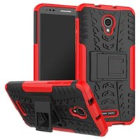 Pour Alcatel Pop 4 Plus Case Rugged Combo Hybrid Armor Bracket Impact Holster pour Alcatel One Touch POP 4 Plus 5056D