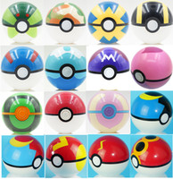 Wholesale Gs Style - 7CM Poke Ball Toys Pokeball Types 21 styles Poke Cosplay Pop-up Master Great Ultra GS Gift Kid Children