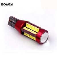 Wholesale 921 Auto Bulb - New Upgrade Extremely Bright High Power Canbus SMD4014 912 921 T15 W16W Car LED Backup Light Auto Reverse Lights Bulb