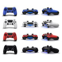 Wholesale Bluetooth Wireless Controller - Wireless Bluetooth Dualshock Joystick Gamepad Controller For PlayStation 4 PS4 Android Video computer Games