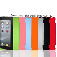 Wholesale Ipad Smart Cover Partner - Wholesale- 1 PC Slim Back Case Suits Smart Cover Partner for iPad 2 3 Multi-Color