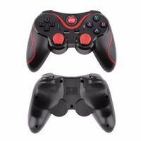 Compra Pc Giochi Mobili-T3 Bluetooth Gamepad per Android Phone Pad Smart Box PC Joystick Wireless Bluetooth Joypad Controller di gioco con supporto mobile