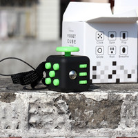 Wholesale Mini Key Chain Cube Toys - Fidget cube mini rubik's cube to relieve stress DIY puzzle cube toy key chain