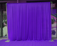 Wholesale Hot Pink Curtains - 3M*3M backdrop party background valance wedding backcloth stage curtain (10ft*10ft)