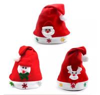 Wholesale Wholesale Spring Summer Decor - New Arrival Christmas Decor Santa Decoration hats High-grade Christmas hat Santa Claus hat Cute adults Christmas Cosplay Hats 60 p l