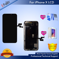 Wholesale pixel high - TFT Material New Arrival No Dead Pixel High Quality LCD For iPhone 10 Iphone X Amazing Replacement For Phone Repair With Free DHL Shipping