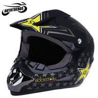 Wholesale Dirt Motocross Motorcycle - Wholesale- Motorcycle Helmets Motocross Dirt Bike Racing Off Road Helmet Breathable Motorbike Mask with Adjustable Lock Buckle S M L XL