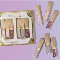 Wholesale Face Travelling - Newest Stila Eye For Elegance set Shimmer Glitter Liquid EyeShadow Travel Set 6 Colors STILA Highlighter face makeup set