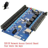 Wholesale Door Wiegand - Wholesale- Generic Wiegand CA-3240BT TCP IP Network Access Control Board TCP IP Network Intelligent four doors two ways support WG26 Carea