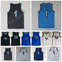 Wholesale Lp Player - Penny Hardaway 1 Throwback Uniforms Basetball Blue White Black 1 2 LP Penny Anfernee Hardaway Jersey Sport Stitching with player name