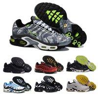 кроссовки торты оптовых-Новые кроссовки Мужская обувь TN продает как горячие топы Мода Увеличенная вентиляция Повседневная обувь Кроссовки Обувь, Бесплатная доставка