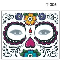 Wholesale Eyeshadow Temporary - Disposable Eyeshadow Sticker Magic Eye Face Lace Style Waterproof Temporary Tattoo For Beauty Makup Stage Halloween Party 2000pcs
