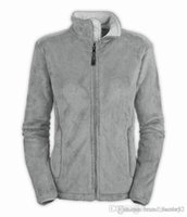 Wholesale Womens Wool Brown Coat - The North Womens Denali Fleece Hoodies Jackets Fashion Casual Warm Windproof Ski Face Kids Coats Best Price Jackets Suits S-XXL.