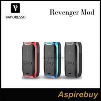Wholesale Case Board - Vaporesso Revenger Box Mod 220W Revenger TC Box Mod Revolutionary IML Case 0.96 Inch OLED Display OMNI Board 2.0 Chi 100% Original