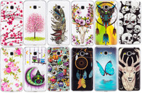 Wholesale Cellphone Gel Cases - Lumious Soft Shell Case For Samsung Galaxy J3 J5 J7 S5 S6 S6 Edge S7 S7 Edge Delight TPU IMD Gel Rubber Silicone Cellphone Cases