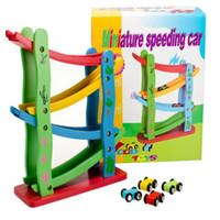 de madera de rampas grandes carrera de nios coche juguetes para nios pequeos juegos para nios con pequeos corredores miniatura coche de alta