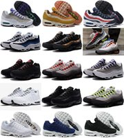 New 30 Colour Drop Shipping Atacado Casual Shoes Men Air Cushion 95 OG Sneakers Boots Authentic 95s New Walking Discount Sports Shoes