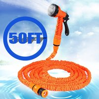 Wholesale Clear Flexible Hose - Watering Irrigation Garden Hoses Reels 100 75 50 25FT Expandable Magic Flexible Hose Water for Garden Car Pipe Plastic Hoses to Watering