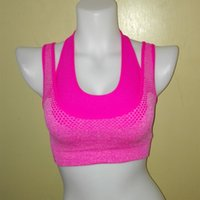 Wholesale Ladies Vests For Sale - Hot sale Shockproof Wire Free Bra Fitness Bras for Women Underwear Bralette Ladies Colete Vests Workout Lingerie Sujetador Tank Tops