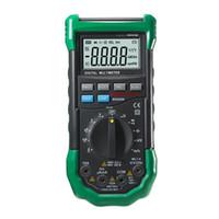 Wholesale Measurement Range - Freeshipping Digital Multimeter Auto Ranging DMM Sound Light Alarms Resettable Fuse Capacitance Frequency Measurement Detector