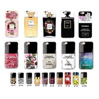 Wholesale Nail Polish Phone Cases - For Apple Iphone 6 6S Plus iphone 7 plus Samsung S6ege Silicone Phone Case Soft TPU Cell Phone Cases Nail Polish Design Painting