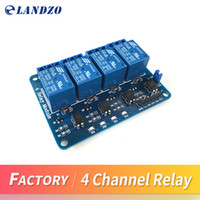 Wholesale relay arduino - Free shipping 4 channel relay module control board with optocoupler. Relay Output 4 way relay module for arduino