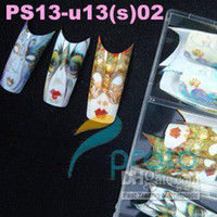 Freeshipping - 70x BRAND NEW Airbrushed Gesichtsmaske Design Nail Tips Designer Nail Art Tipps 70 Tipps pac