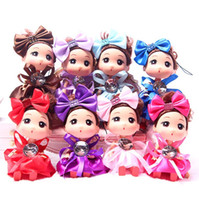 """Wholesale Mini Dolls For Dollhouse - 4.5"""" Children Toys 6Pcs Mini Leggy Baby Cute Gril Dolls for Dollhouse Activities Toy Birthday Children's Day"""