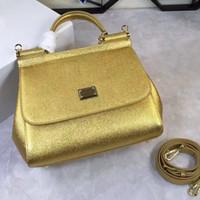 sacs en cuir achat en gros de-Le nouveau 25cm 20cm, Sicile épaule sac à main sac à main de mode en cuir paume croix Doctor Bag