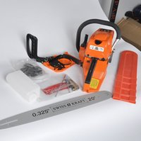 Wholesale Gasoline Garden - free shipping 2017 new 365 chainsaw high quality new gasoline saws easy start 5200, quality chain saw timber sawing blade garden tools.