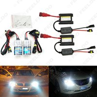 Wholesale Xenon Headlight Digital Ballast - Xenon HID Kit H1 H3 H7 H8 H10 H11 9005 9006 DC 12V 35W Xenon Bulb Lamp Digital Ballast Car Headlight #4470