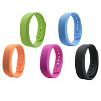 Wholesale bluetooth fashion bracelet - T5 Smart Wristband Bluetooth 4.0 Smartband Smart Band Sleep Monitor Living Waterproof Fashion Smart Bracelet