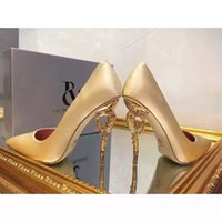 Wholesale Hot High Heels For Prom - 2016 green organza grey blue black red silk comfortable wedding shoes High heels bridal shoes for wedding prom evening party shoes Hot Sale