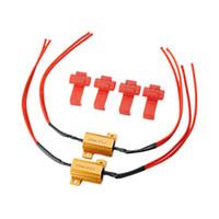 Wholesale Load Resistor 25w - Wholesale- 2Pcs Flash Rate Load Resistors LED Turn Signals Indicator Fog Runn Controllers 25W 1.1 x 0.6x 0.6 Inch